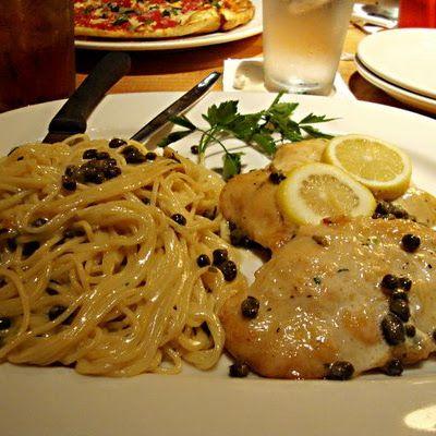 Chicken Piccata California Pizza Kitchen