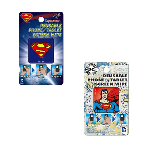 Superman Reusable Phone/Tablet Screen Wipes