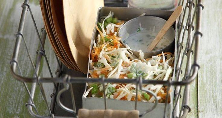 Σαλάτα με λάχανο και καρότο