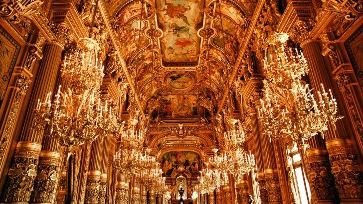 Inside Opera House In Paris