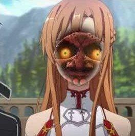 Asuna Yuuki/Moon face swap