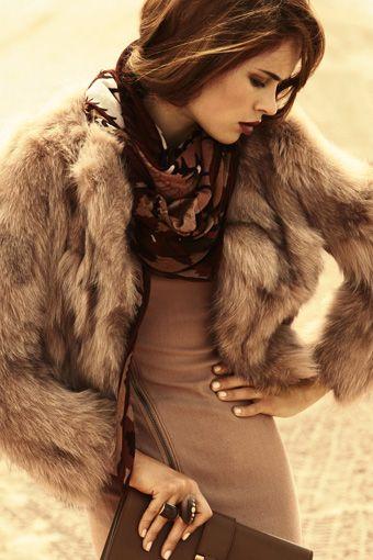 fur: Fabulous Fur, Fur Coats, Fur Jackets, Anastasia Khodkina, Fashion Style, Dresses, Colors Palettes, Fall Outfits, Fall Fashion