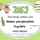 3rd Grade Common Core NF.2 Fract./Number Lines: Math Tasks, Exit Tickets, I Cans