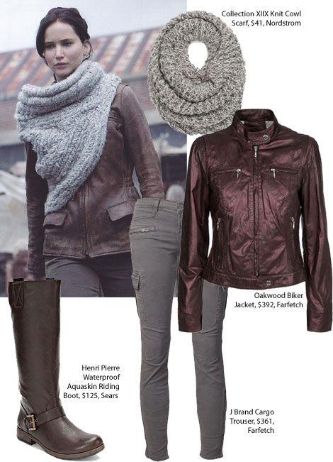 Copy Katniss Everdeen's District Nine Leather Jacket