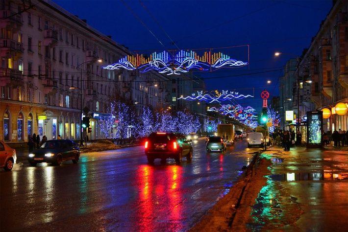 «Огни большого города: Мурманск» в блоге «Города и сёла России» - Сделано у нас