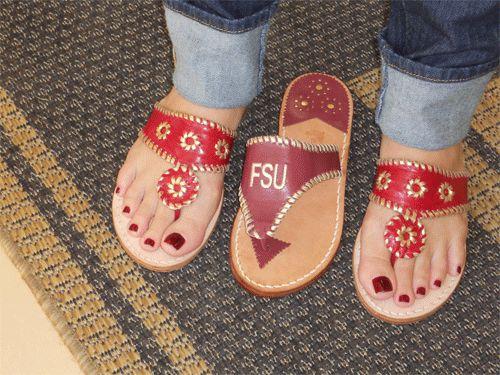 FSU sandals!