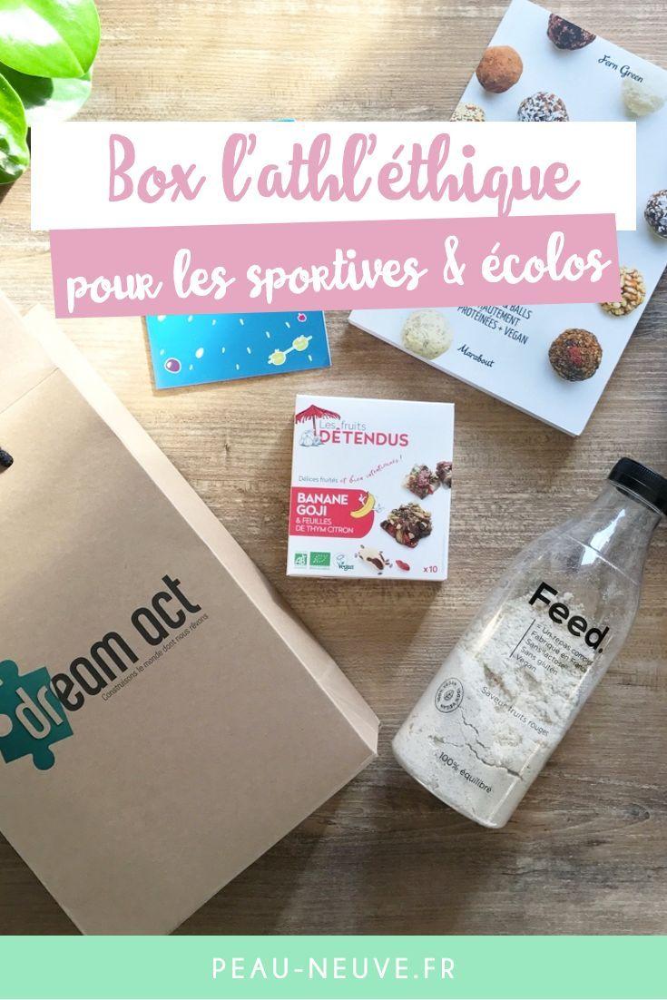 J Ai Teste L Athl Ethique Une Box Pour Les Sportives Et Ecolo Peau Neuve Beaute Fatale Peau