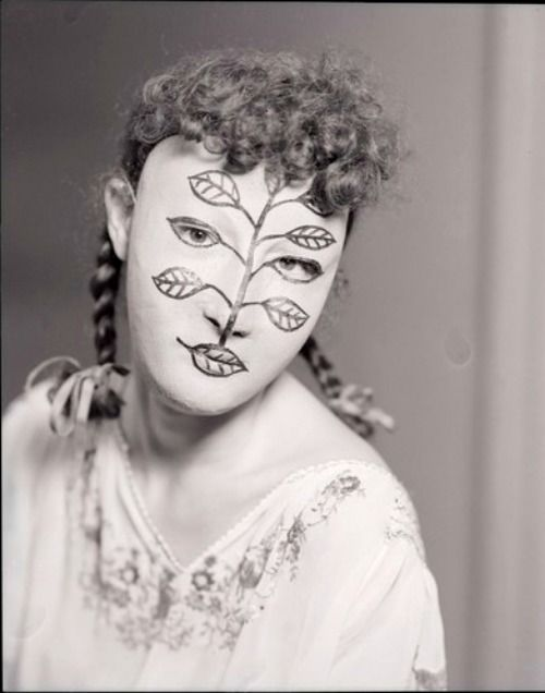 Mask designed by Man Ray...