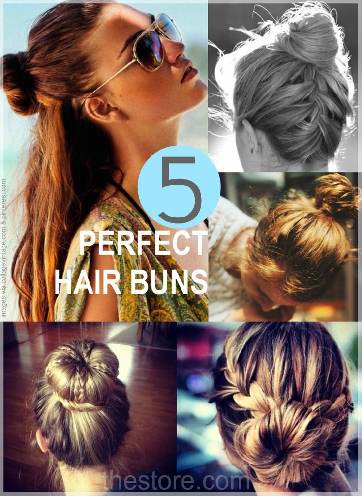 Beauty tip : How To Wear The Hair Bun in 5 Elegant Ways