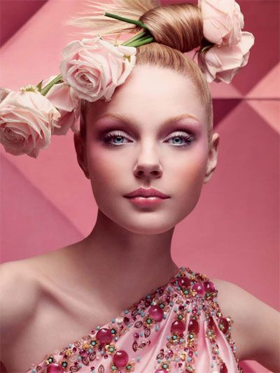 Jessica Stam | Dior Makeup.. www.fashion.net