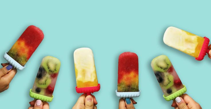 Let your freezer do the cooking this summer! These four fun popsicles are easy to make yourself and will sweeten your summer vacation.