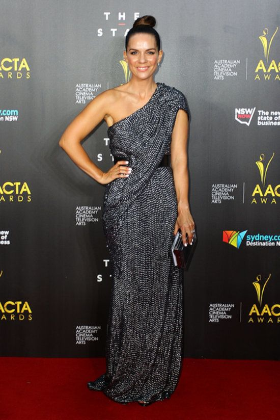 Michala Banas in Thurley at the AACTA Awards in 2014.