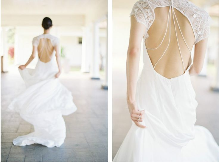 Photography: Christine Clark #hawaii #weddingdress #gown #ウエディングドレス #アレキサンドラグレコ #ウエディング #結婚式 #ハワイ