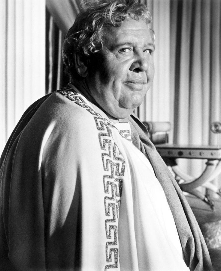 "Charles Laughton in Stanley Kubrick's ""Spartacus"", 1960."