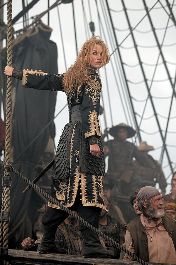 Somehow this reminds me of Claire... Besides, who doesn't love some Kiera in Pirates?