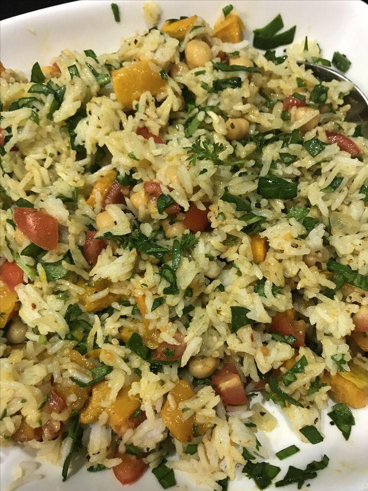 Moroccan Rice Salad
