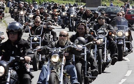 Some gangs have different styles to them like motorcycle gangs who roll in large groups.  Their main ways of transportation are their motorcycles.