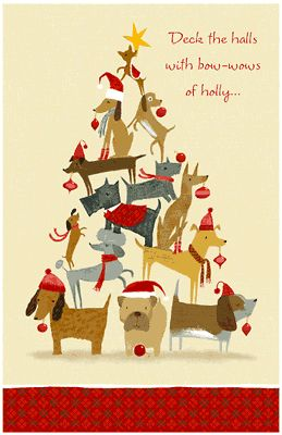 Deck the Halls Greeting Card - Christmas Printable Card | American Greetings. Deck the Halls at #LearnYourChristmasCarols http://www.learnyourchristmascarols.com/2009/11/deck-halls.html #ChristmasMusic