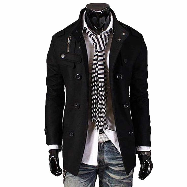 Minus that weird scarf thing. :) men's fashion and style-The Citizen Black