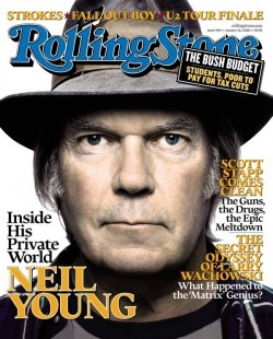 "Neil Young (37/100) Born November 12th, 1945 Key Tracks ""Heart of Gold,"" ""Powderfinger,"" ""Rockin' in the Free World"" Influenced Jeff Tweedy, Wayne Coyne, Conor Oberst"