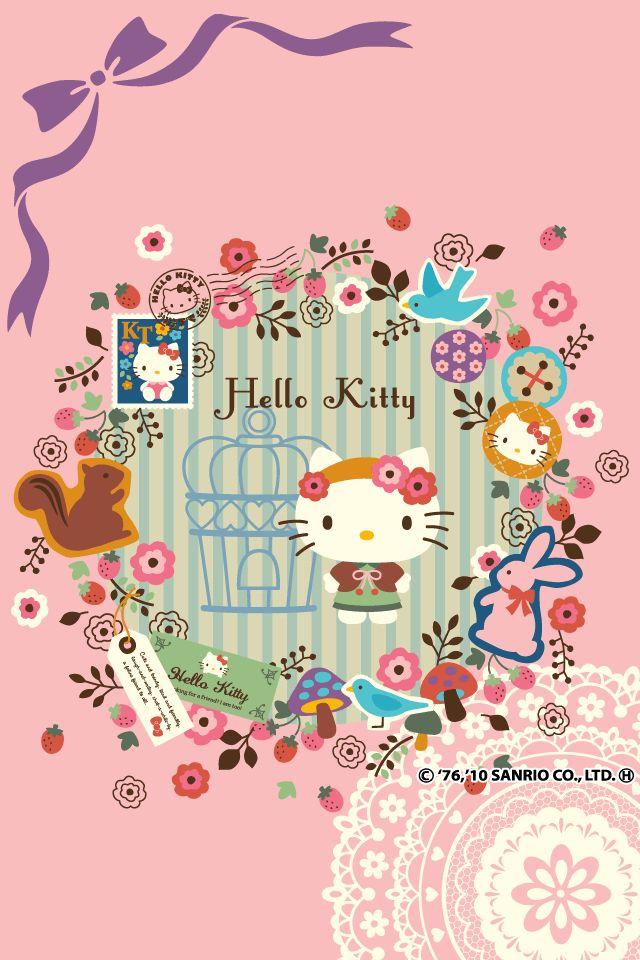 hello kitty phone wallpaper ~Hello Kitty Addicted (=^.^=) <3~hello kitty