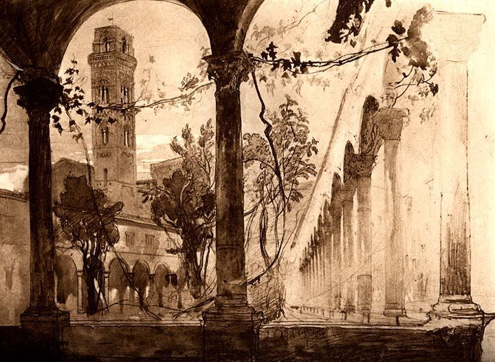 John Ruskin, Lucca