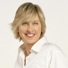 Ellen Lee DeGeneres is an American stand-up comedian, television host and actress. She hosts the syndicated talk show The Ellen DeGeneres Show.