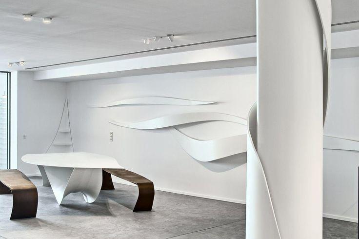 Diseño y esculturas realizadas con KRION® en Ibiza by Veronica Martinez Design