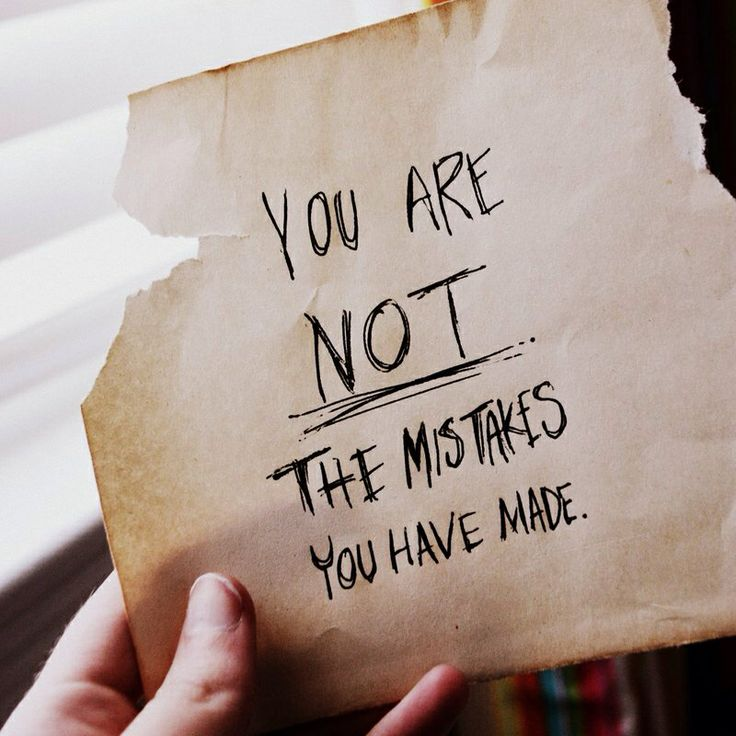 You're not defined by your circumstances; successes or failures. You are defined by God and His Word!