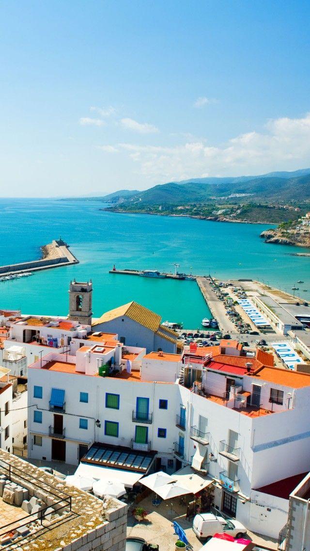 I hope I get to use my Spanish again! Peniscola, Spain #TravelineLove
