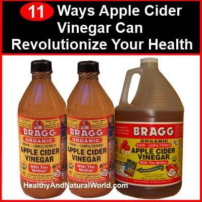 11 Ways Apple Cider Vinegar Can Revolutionize Your Health