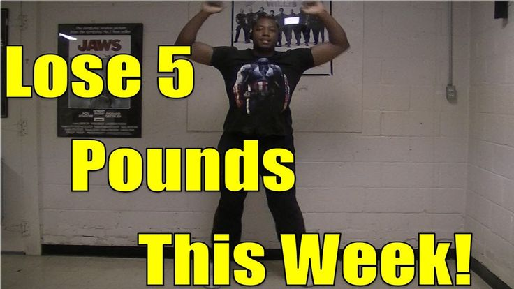Jumping Jack Weight Loss Workout #2 (Lose 5 pounds THIS WEEK!) I dunno about the five pounds THIS WEEK, but this workout is killer... Don't underestimate the Jumping Jacks!