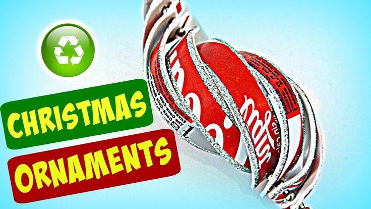 DIY Christmas ornaments. Adornos de Navidad
