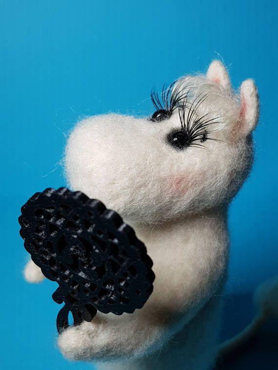 Moomins Moomintroll Snork Maiden woll Tove Jansson felting