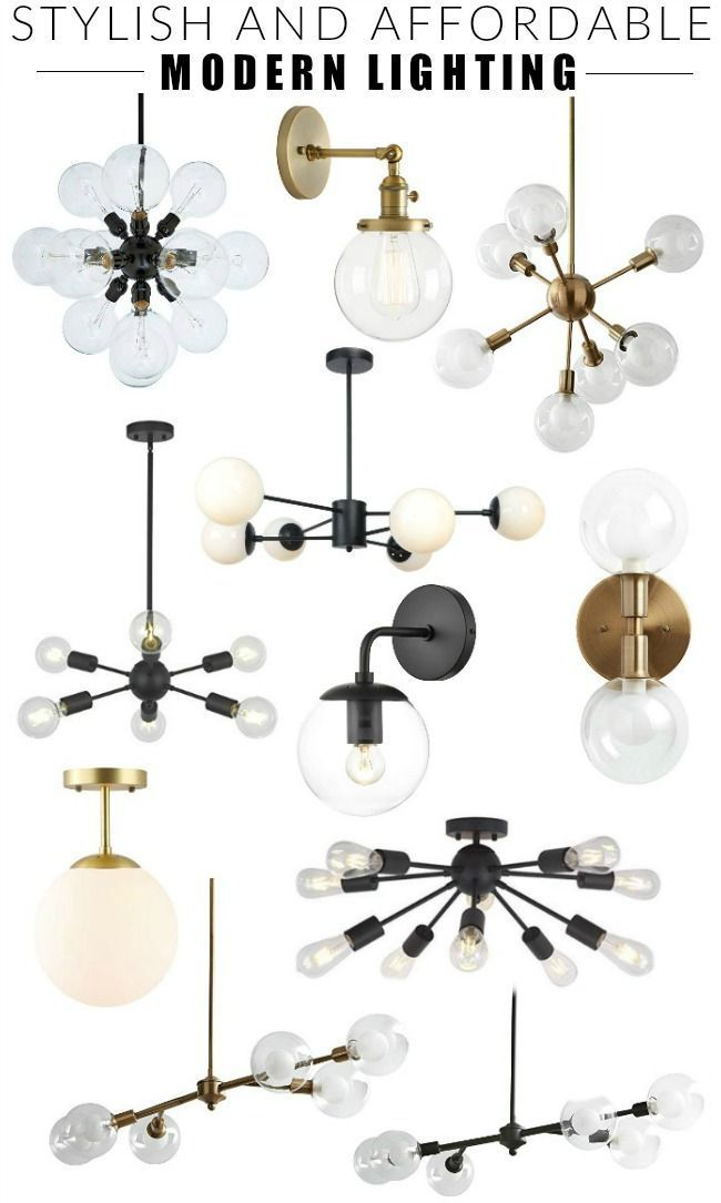 Friday Favorites Mid Century Modern Lighting From Amazon Mid Century Modern Lighting Modern Light Fixtures Modern Lighting