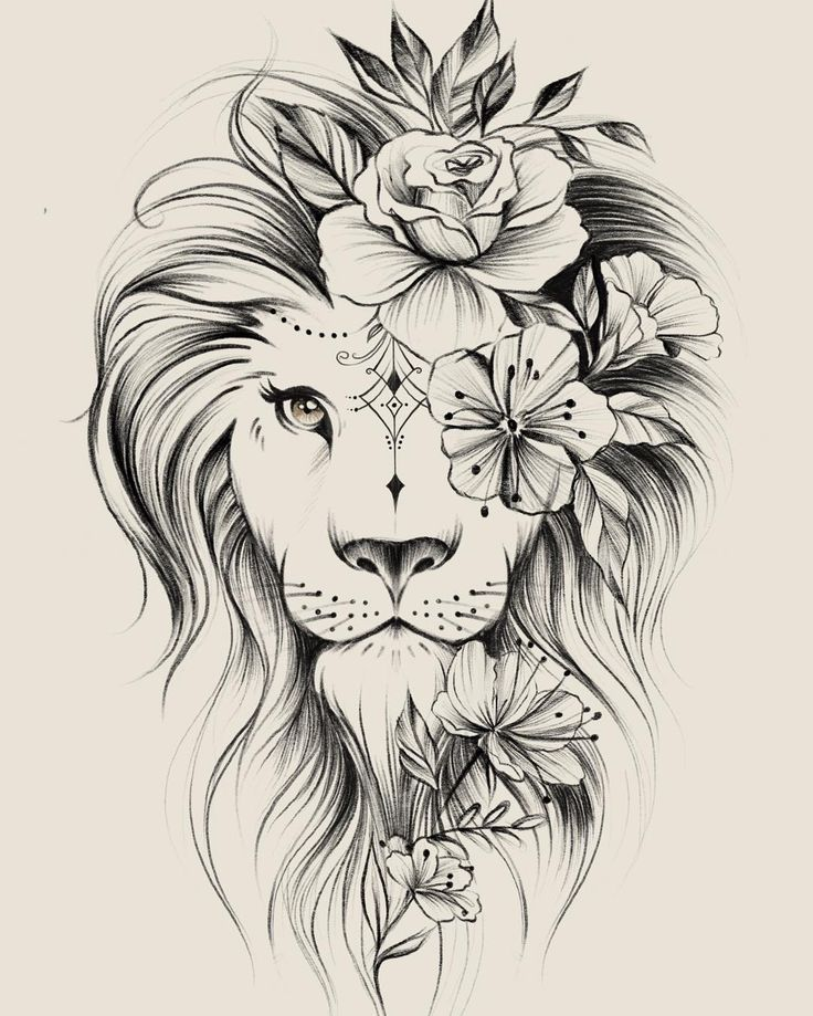 #Bild #Blumen #enthalten #könnte #tattoos #zeichnung