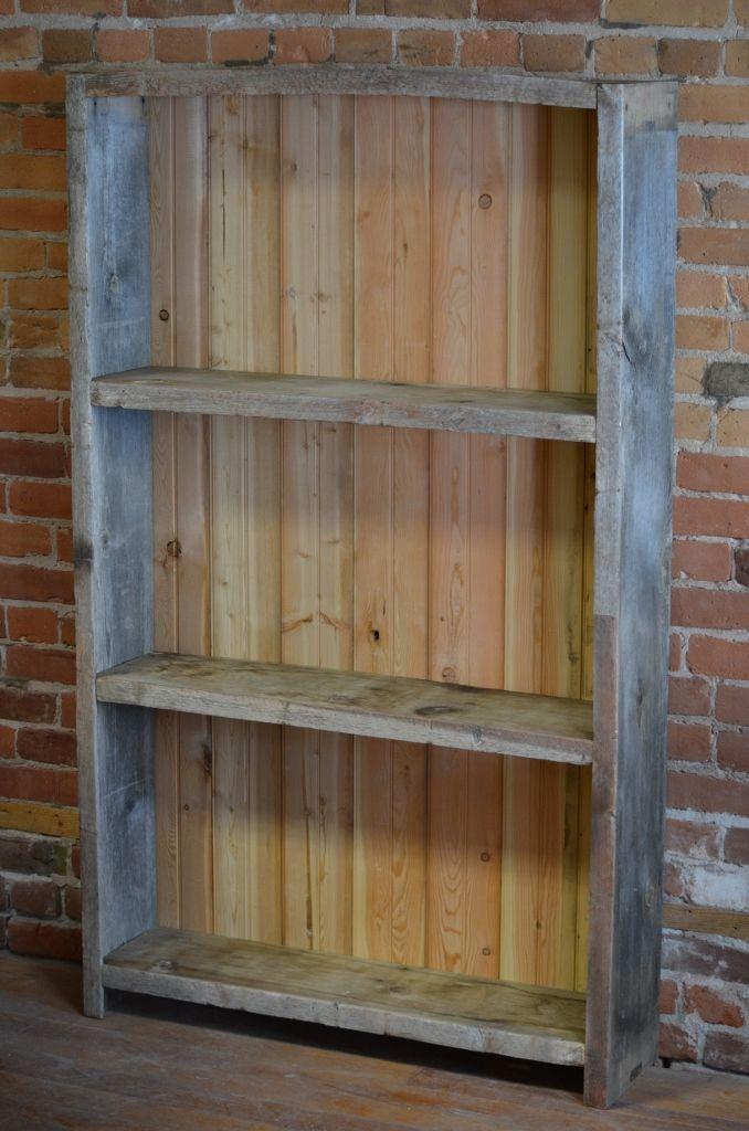 Barnwood Bookshelf