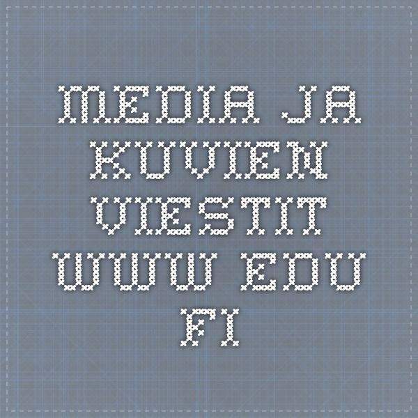 Media ja kuvien viestit www.edu.fi