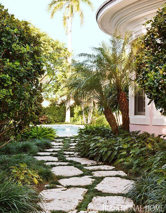 Colorful Coastal Home Palm Beach Gardens Coastal