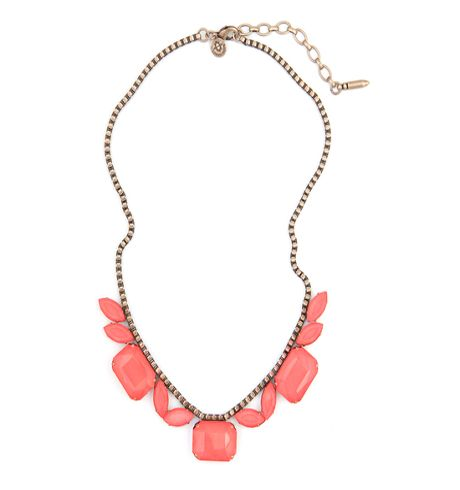 """Looking for a statement necklace to take your """"night on the town"""" outfit to the next level? Loren Hope's Blythe necklace is for you!"""