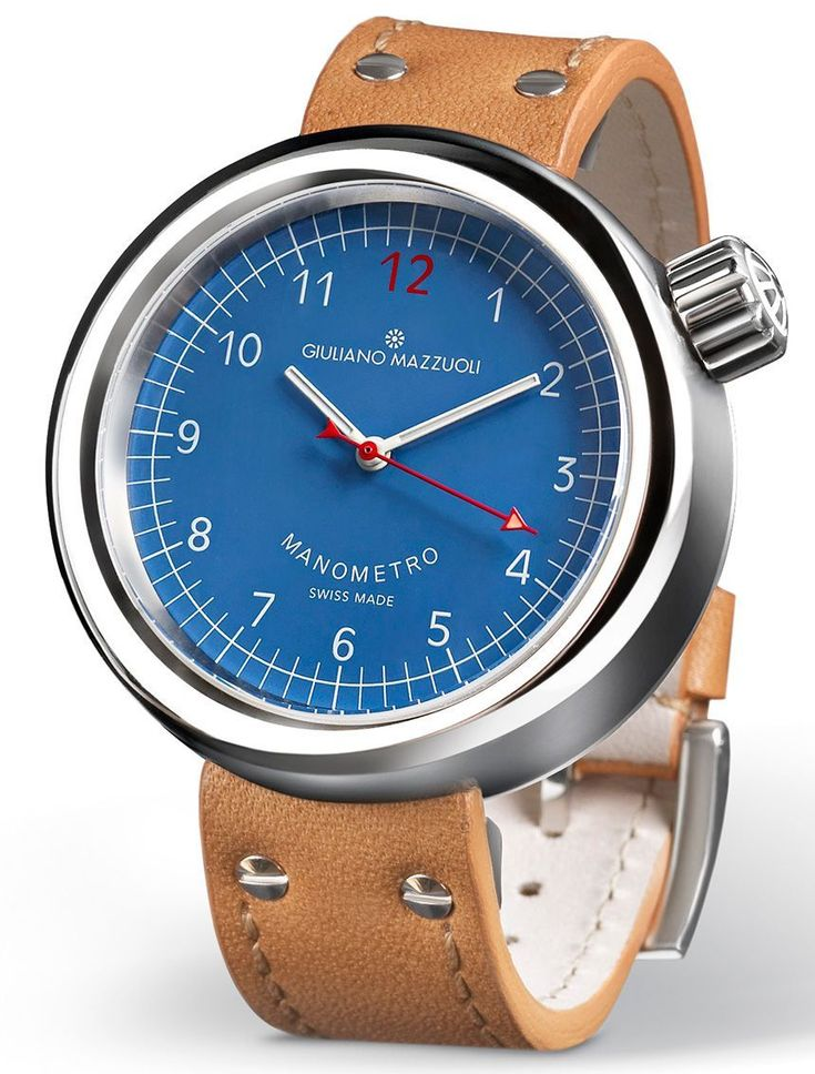 055531103ab47 Giuliano Mazzuoli Manometro Watch With New Dial Colors - by Michael Penate  - More on this