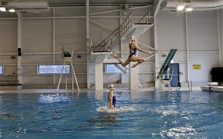 London 2012 Olympics: in the pool with Britain's synchronised swimmers - Telegraph