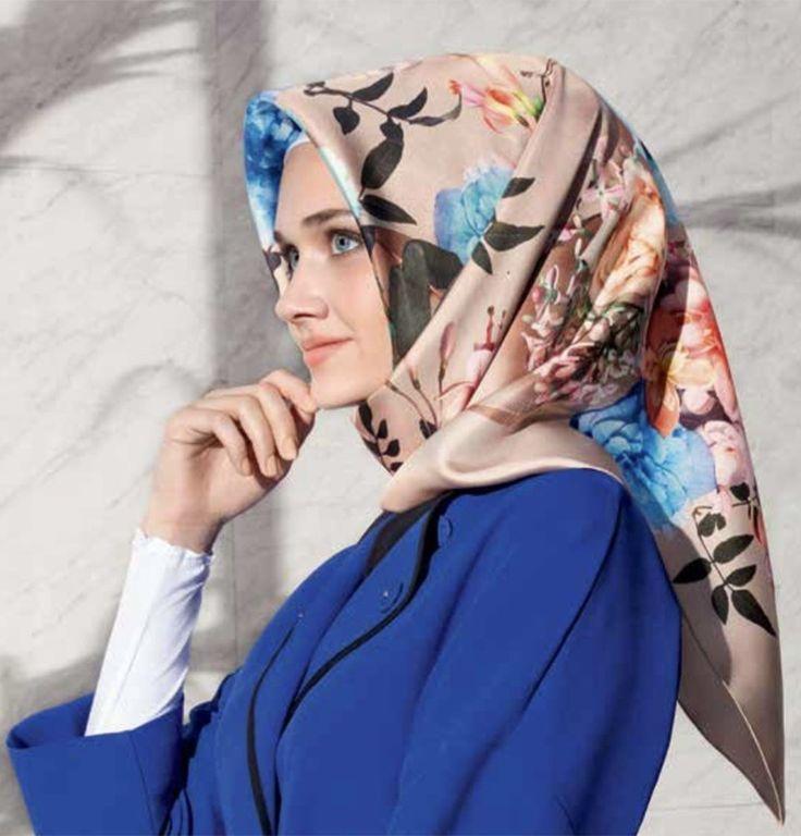 Armine Silk Hijab Spring 2017 #7659