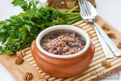 Receita de Tutu de feijão à mineira em receitas de legumes e verduras, veja essa e outras receitas aqui!