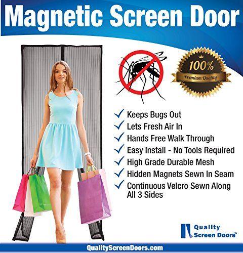 25 Best Ideas About Magnetic Screen Door On Pinterest