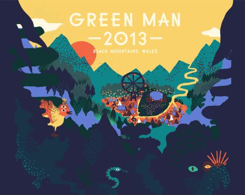 Green Man Festival | Glanusk, Wales 15,16,17,18 August 2013, our third and was brilliant...just gets better and better!