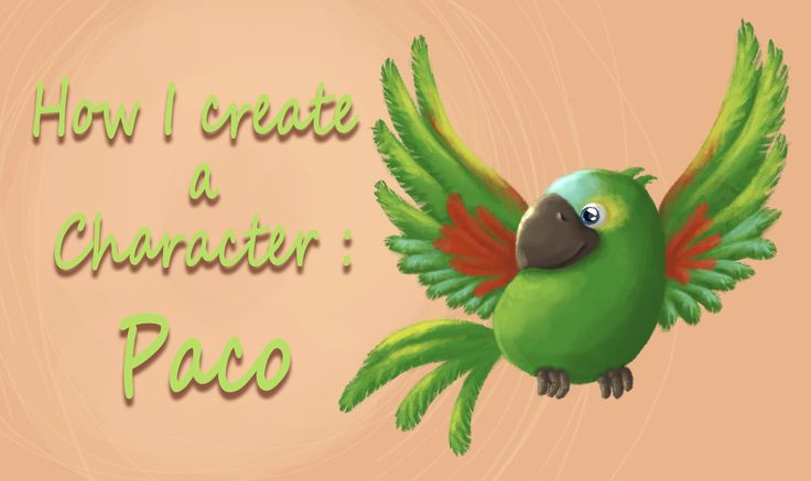 How I create a Character #2: Paco   FairyWorld84