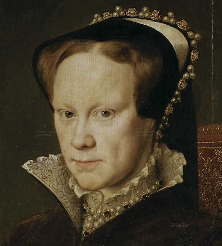 1554 Mary Tudor by Antonio Mor. Magnificent.
