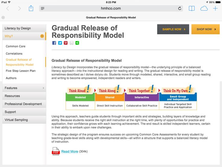 Best Gradual Release Of Responsibility Images On