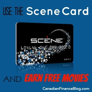 Use the Scene Card and Earn Free Movies